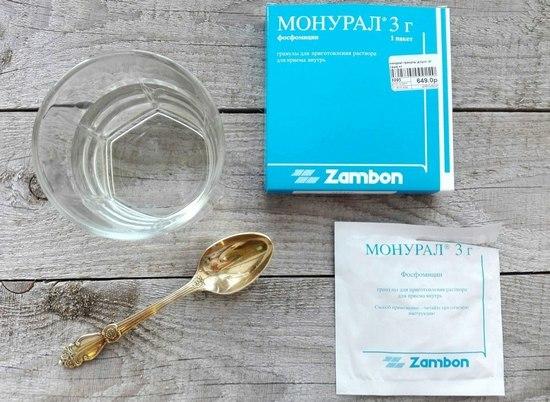 Через какое время действует препарат Монурал