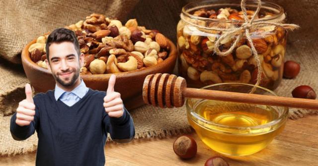 Медово-ореховое средство для потенции