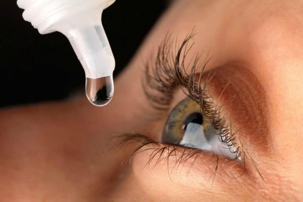 Какие капли капать при травме глаза (роговицы) - полный список