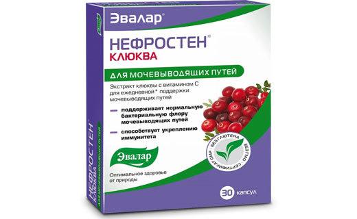 Применение экстракта клюквы в таблетках при урологических патологиях