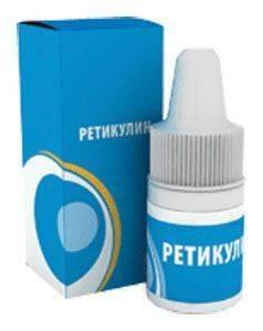 Ретикулин капли глазные - инструкция, цена, отзывы