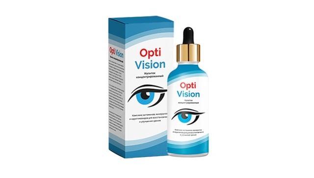 OptiVision (Оптивизион) капли для зрения - эффективность, отзывы
